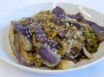Eggplant gaji namul korean eggplant gaji namul side dish forumfinder Gallery